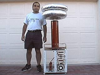 Big Tesla Coil